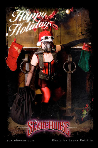 Daphnie's Holiday Greeting from The ScareHouse
