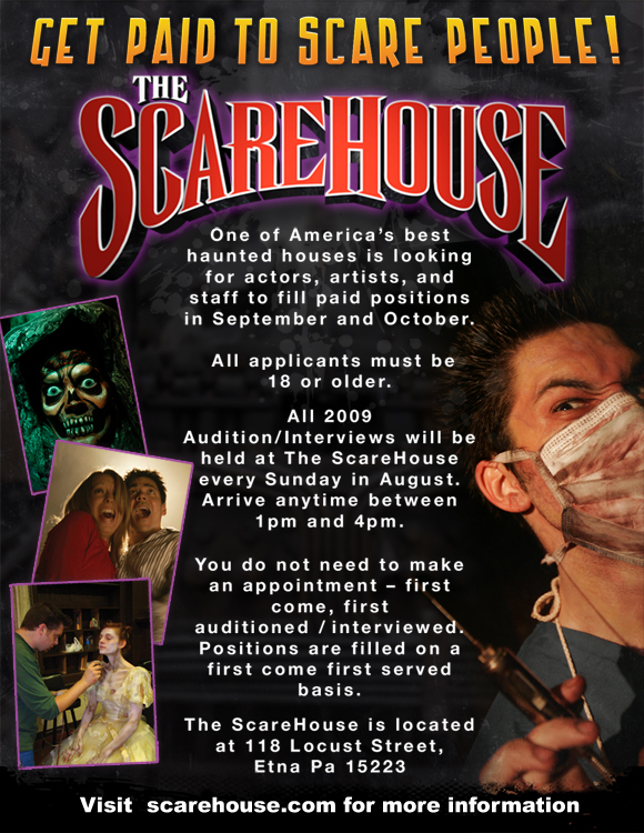 Pittsburgh Haunted House ScareHouse